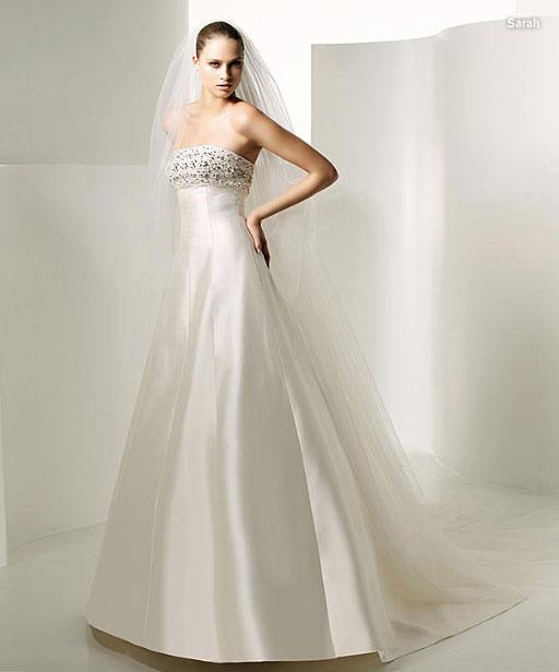 Свадебные платья, классика: Pronovias