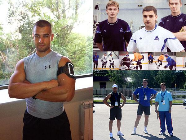 Николай Кривоносов— во время тренировки